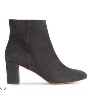REISS SUEDE BOOTIES GRAY SIZE 37 SPAIN